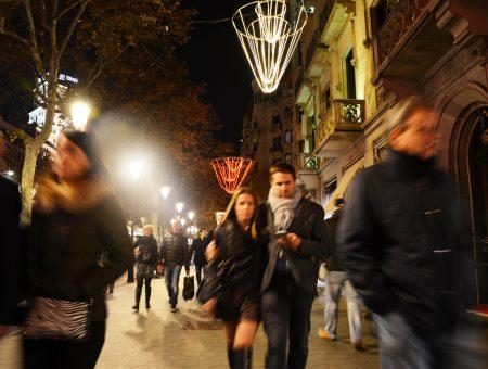 Barcelona'da bir gece yarısı